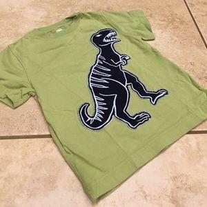 3T Gymboree T-Rex Dinosaur Appliqué Tee